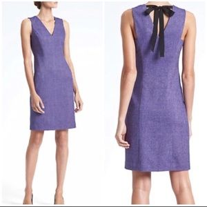 Banana Republic Tie Back Sheath Dress
